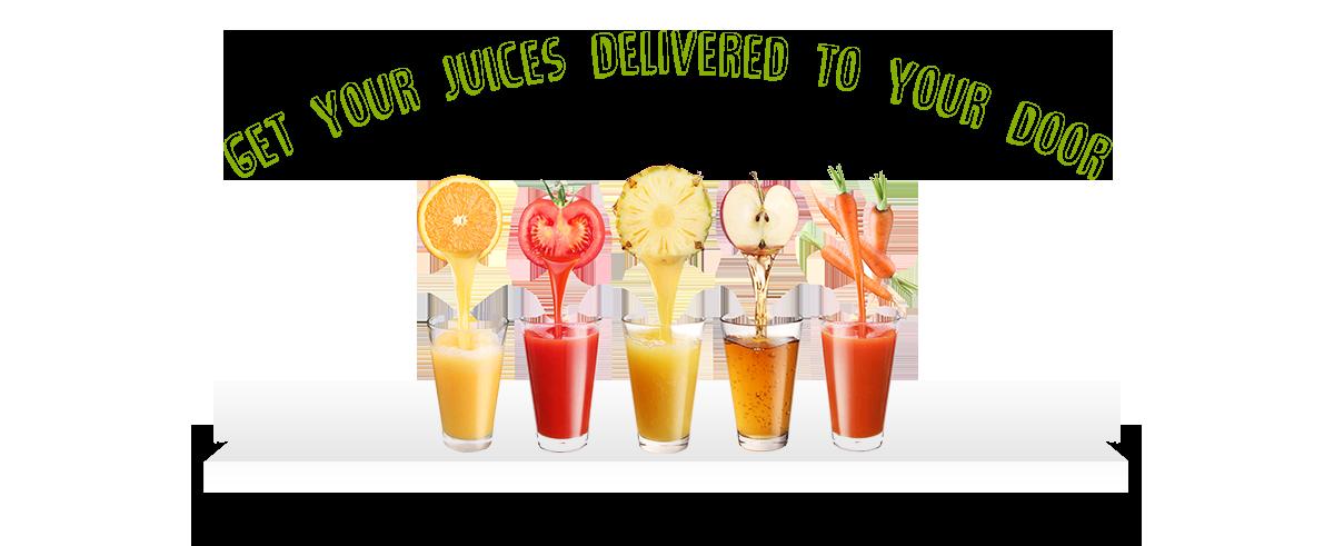 Get your juices delivered to your door